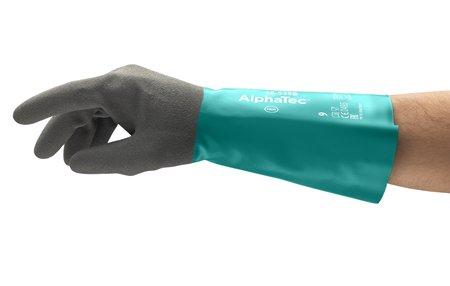 Manusi de protectie chimica Ansell ALPHATEC 58-535B, nitril [1]
