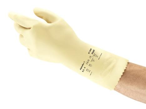 Manusi de protectie chimica Ansell ALPHATEC 87-600, latex 3