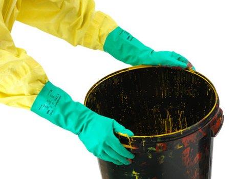 Manusi de protectie chimica Ansell ALPHATEC SOLVEX 37-675, nitril [3]