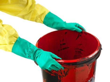 Manusi de protectie chimica Ansell ALPHATEC SOLVEX 37-676, nitril 3
