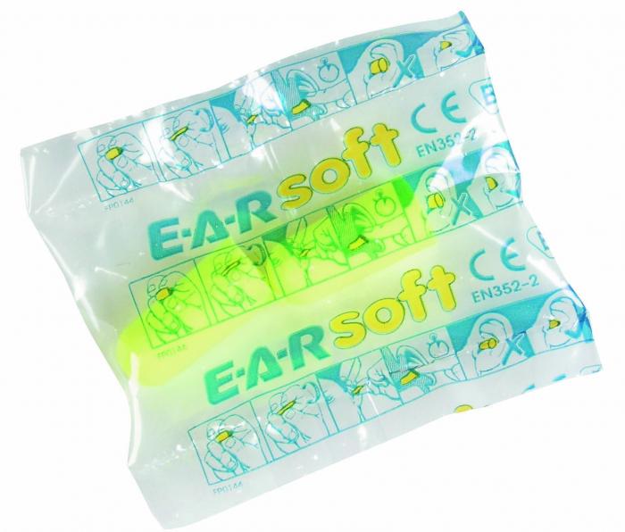 Antifoane interne cu snur 3M EAR SOFT ES-01-005 1