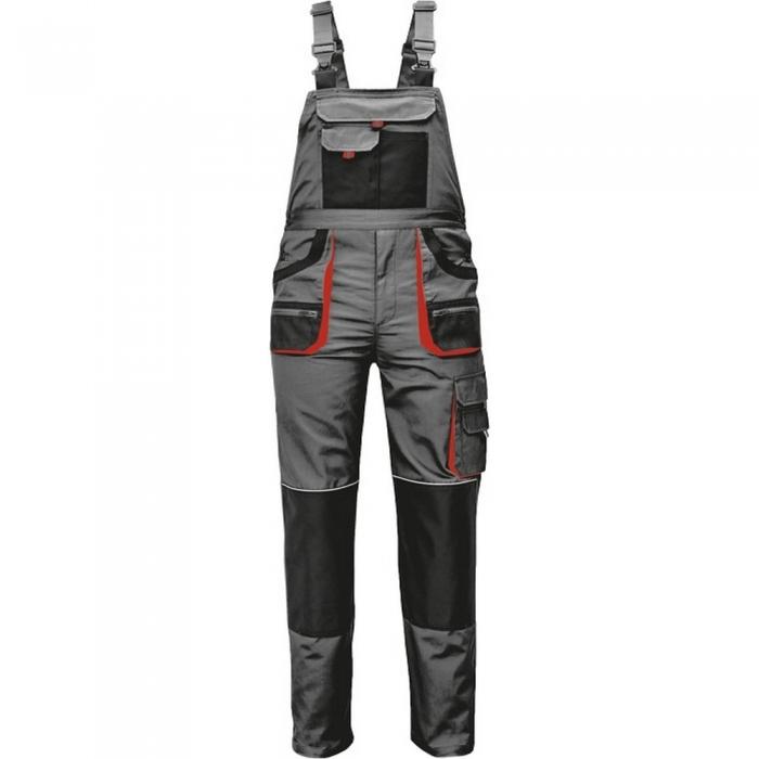 Pantaloni salopeta cu pieptar Fridrich BE-01-004 CARL, tercot 80/20, 235gr/mp 0