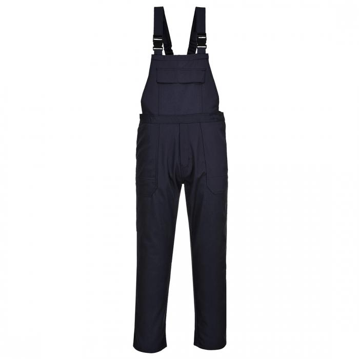 Pantaloni ignifugati cu pieptar de sudura Portwest BIZWELD BIZ4, , 330 gr/mp 0