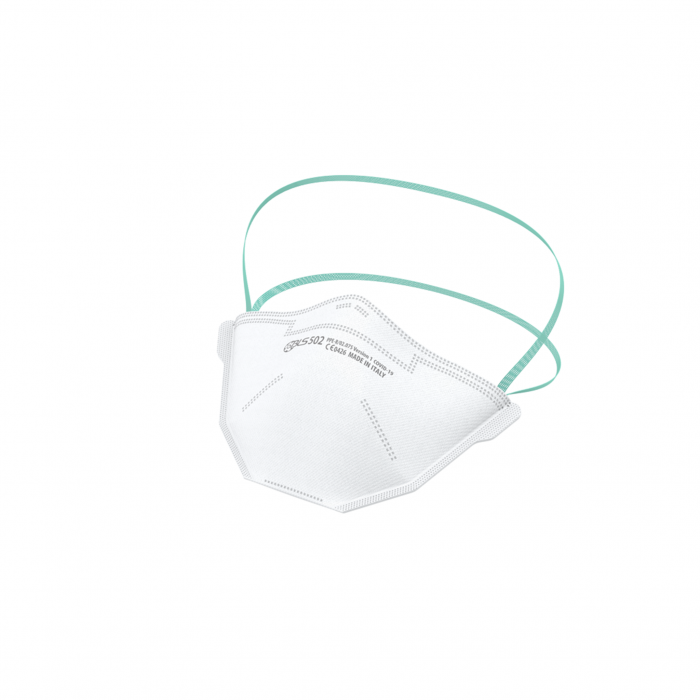 Semimasca de protectie fara supapa FFP2 BLS 500, pliata [0]