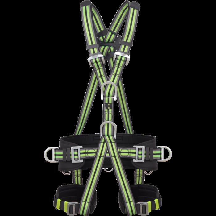 Centura pentru alpinism cu protectie lombara Kratos FA1021300, cu 4 puncte de prindere [0]