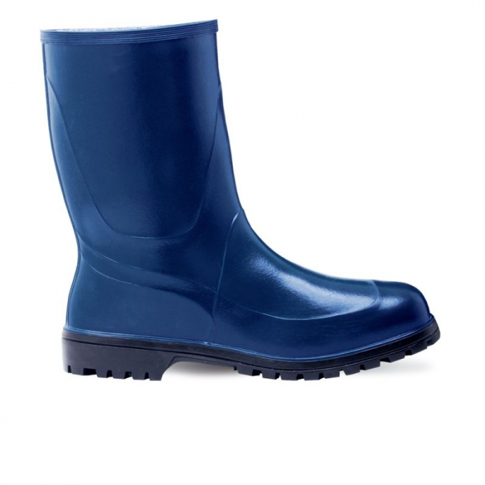 Cizme de lucru din PVC Renania GIARDINO BLUE OB, 38cm 0