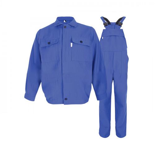 Costum salopeta antiacida de vara Renania OXY, tercot 65/35, 245gr/mp [0]