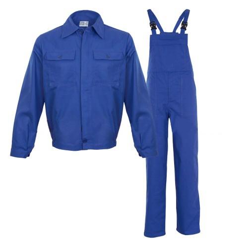 Costum salopeta pieptar Renania MEX, 100% bumbac, 260gr/mp [0]