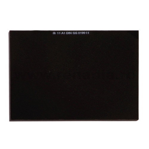 Geam de protectie sudura Schmerler, 90 x 110 mm, fumuriu 0
