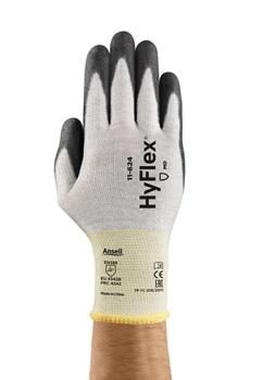 Manusi de protectie taiere Ansell HYFLEX 11-624, impregnate in poliuretan [0]