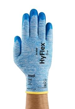 Manusi de protectie Ansell HYFLEX 11-920, impregnate in nitril 0