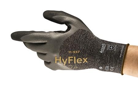 Manusi de protectie Ansell HYFLEX 11-937, impregnate in spuma de nitril [2]