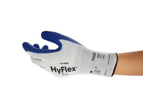 Manusi de protectie Ansell HYFLEX 11953, impregnate in nitril [3]