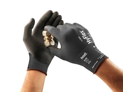 Manusi de protectie Ansell HYFLEX 11-840, impregnate in nitril 3