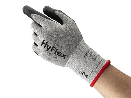 Manusi de protectie taiere Ansell HYFLEX 11-435, impregnata in poliuretan, fibre de sticla [3]