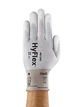 Manusi de protectie statica Ansell HYFLEX 48-130, poliuretan 0