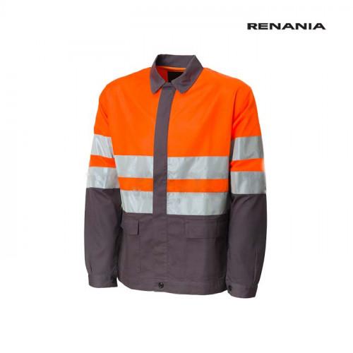 Jacheta de lucru cu benzi reflectorizante Renania FLUO [0]