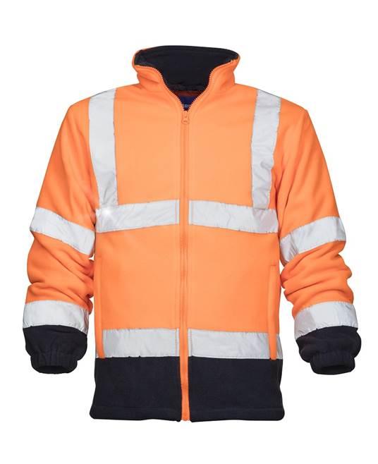 Jacheta reflectorizanta de lucru Ardon REF401, fleece, 300 gr/mp 0