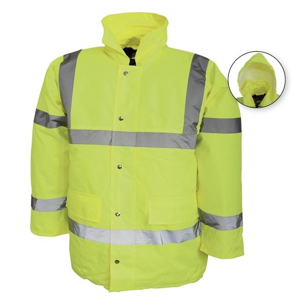 Jacheta reflectorizanta vatuita de iarna Renania BRISTOL, 100% PES Oxford 0