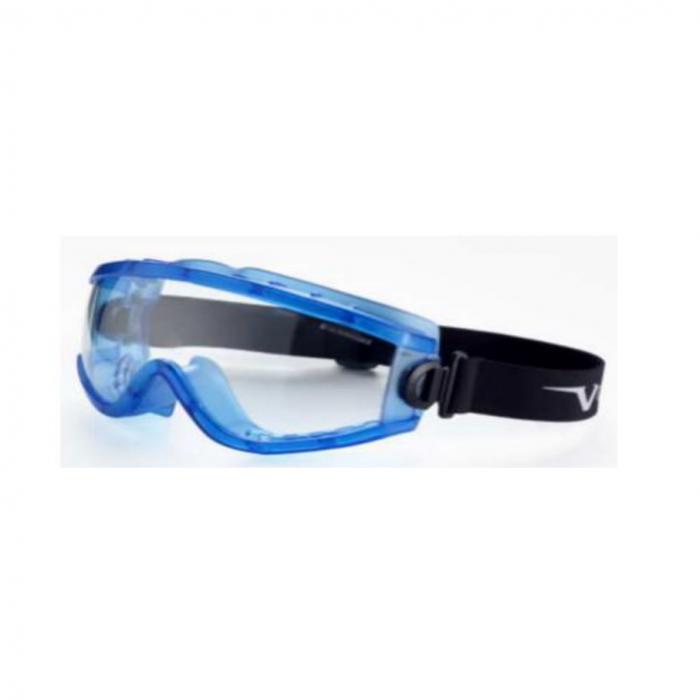 Ochelari de protectie Univet BLUE, tip goggles, cu lentile transparente 0