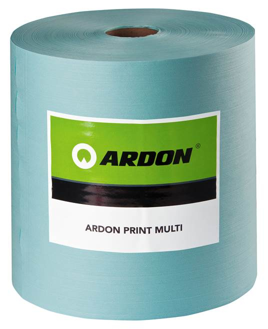 Laveta industriala Ardon PRINT MULTI, 32x38cm, 500buc, turcoaz [0]