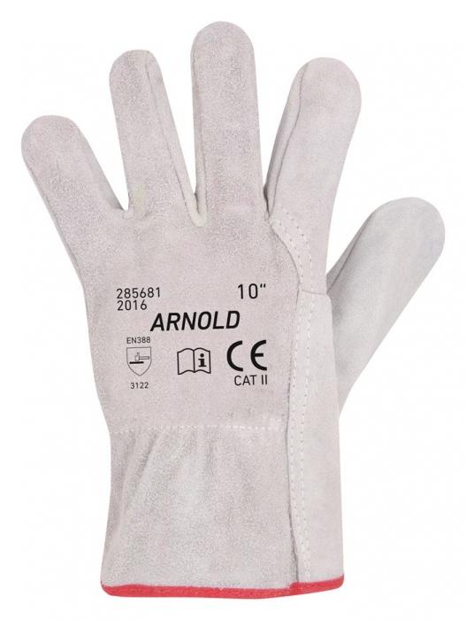 Manusi de protectie Ardon ARNOLD, piele spalt bovina,  integral 0