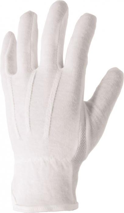Manusi de protectie textile Ardon BUDDY, tricot fin, cu aplicatii PVC anti alunecare 2