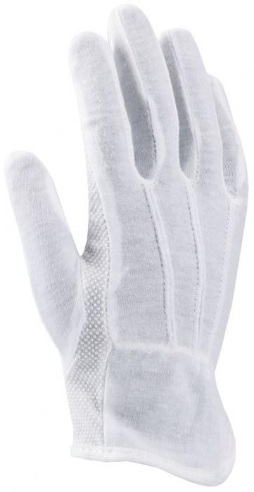 Manusi de protectie textile Ardon BUDDY, tricot fin, cu aplicatii PVC anti alunecare 0