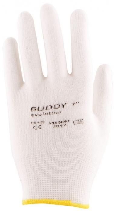 Manusi de protectie textile Ardon BUDDY EVOLUTION, nailon, cu aplicatii PVC anti alunecare 1