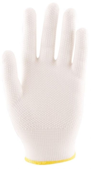 Manusi de protectie textile Ardon BUDDY EVOLUTION, nailon, cu aplicatii PVC anti alunecare 0