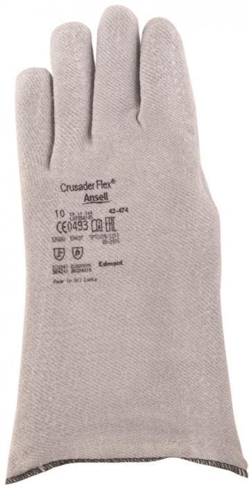 Manusi de protectie termica Ansell CRUSADER FLEX 42-474, 200 grade, 33 cm, ActivArmr [1]