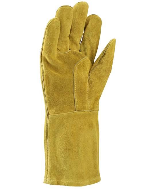 Manusi de protectie sudura Ardon KIRK, piele spalt bovina, ata kevlar, 35cm [1]