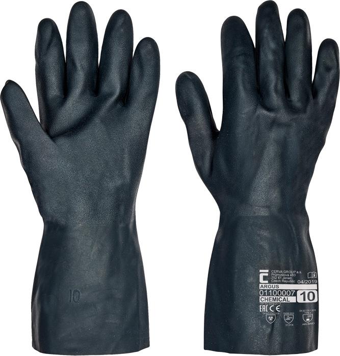 Manusi de protectie chimica Cerva ARGUS, neopren 0