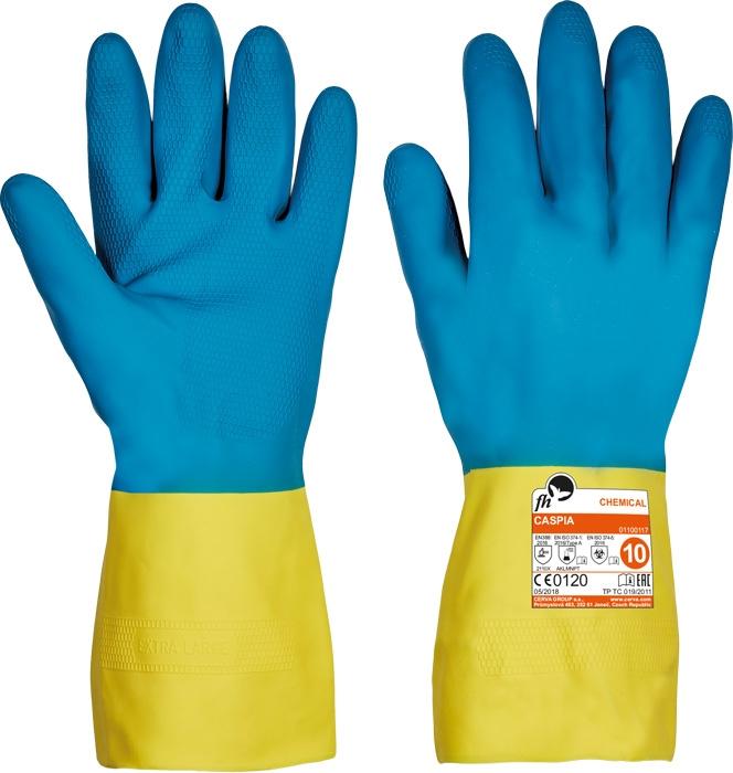 Manusi de protectie chimica FH CASPIA, latex [0]