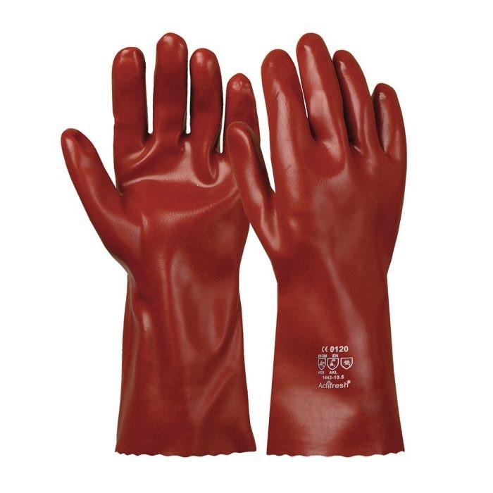 Manusi de protectie chimica Renania 1443 VINYL BROWN, PVC [0]