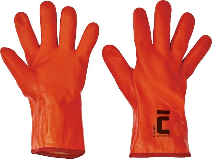Manusi de protectie de iarna Cerva FLAMINGO, PVC 0
