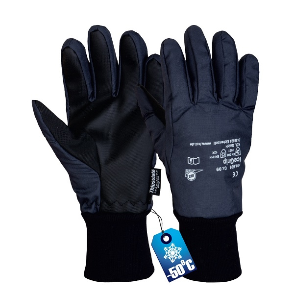 Manusi de protectie de iarna Honeywell ICEGRIP 691, PVC 0