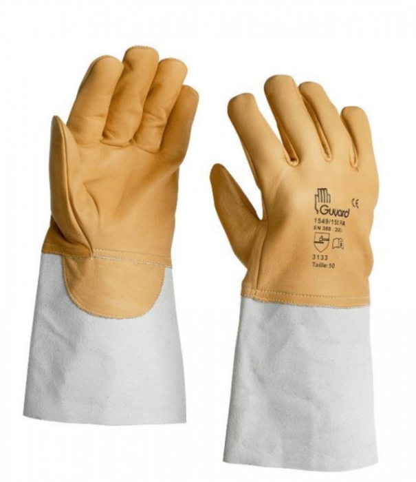 Manusi de protectie Guyard 1549/100 VBS, piele [0]