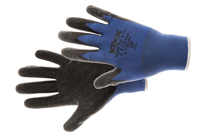 Manusi de protectie Kixx BEASTY BLUE, impregnate in latex [0]