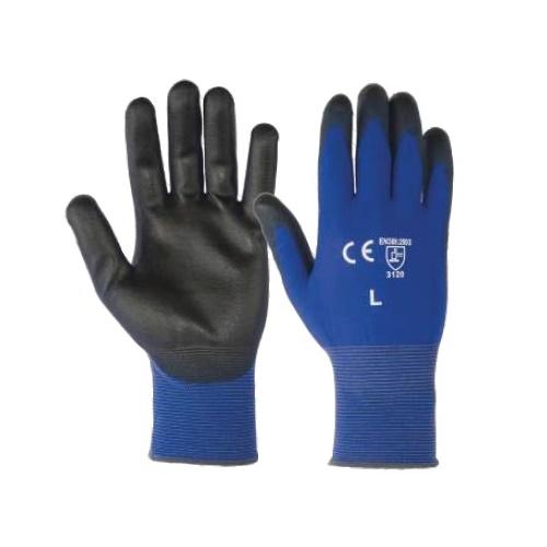 Manusi de protectie Renania BLUE LITE, impregnate in poliuretan 0