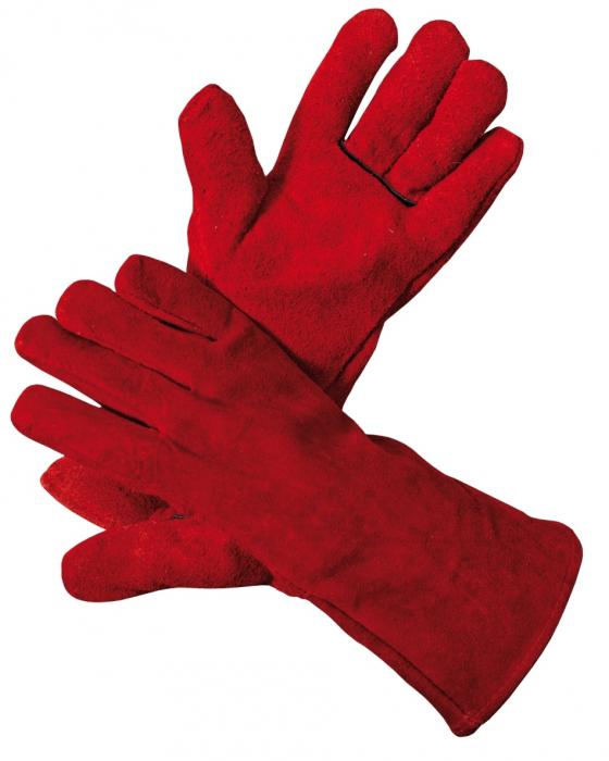 Manusi de protectie sudura Cerva SANDPIPER RED ECO HS-02-001, spalt bovina, 32 cm [0]