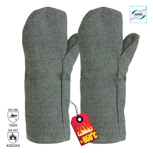 Manusi de protectie termica Jutec 4732-P, 40 cm, palmare [0]