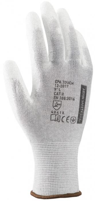 Manusi de protectie statica Ardon EPA TOUCH ESD, poliuretan palma [0]