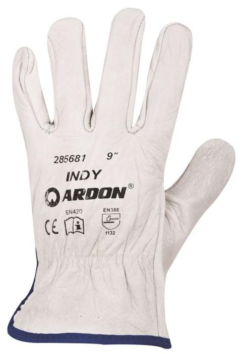 Manusi de protectie Ardon INDY, piele spalt bovina, integral 0