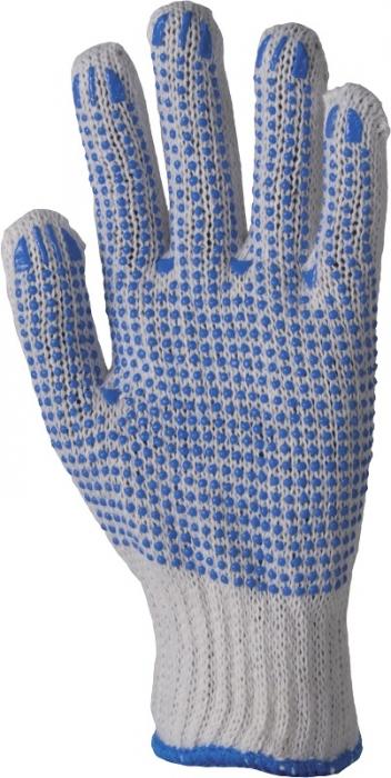 Manusi de protectie textile Ardon PERRY, cu aplicatii PVC anti alunecare [0]