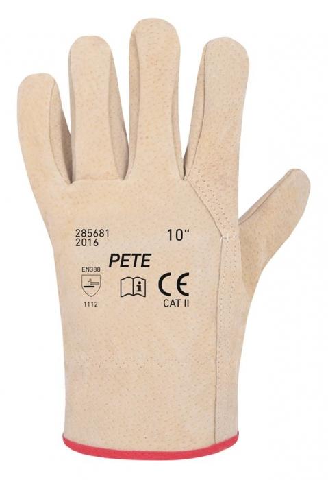 Manusi de protectie Ardon PETE, piele porc, integral 0