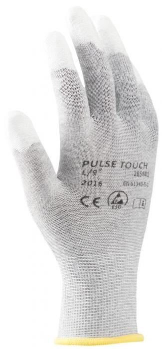 Manusi de protectie statica Ardon PULSE TOUCH ESD, poliuretan degete 0