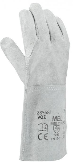Manusi de protectie sudura Ardon MEL, piele spalt bovina, 35 cm 0