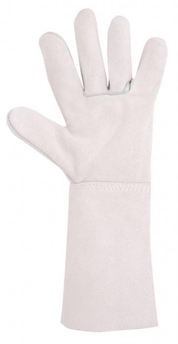 Manusi de protectie sudura Ardon MEL, piele spalt bovina, 35 cm 1