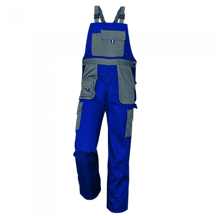 Pantaloni salopeta cu pieptar Cerva MAX EVOLUTION, tercot 80/20, 235 gr/mp [0]